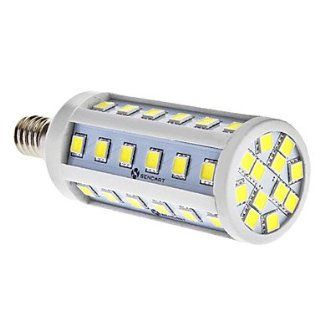 E14 7W 48x5060SMD 520 580LM 6000 6500K Natural White Light LED Corn Bulb (85 265V)   Led Household Light Bulbs