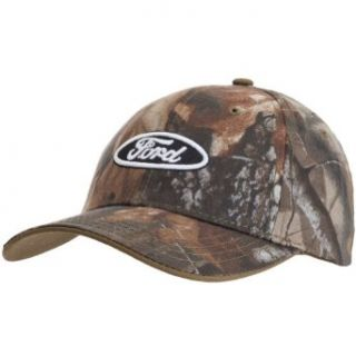 Ford   Mens Ford   Logo Camo Adjustable Baseball Cap Multi: Clothing