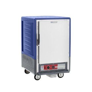 Metro C535 HFS U BU C5 3 Series Heated Holding Cabinet with Solid Door   Blue   Medicine Cabinets