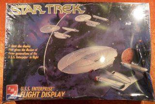 Star Trek USS Enterprise Flight Display Model Kit Toys & Games