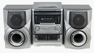 Aiwa NSX A555 Compact Stereo System (Discontinued by Manufacturer) Electronics