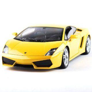 Lamborghini Gallardo Lp560 4 Remote Control Car 120 Model Car Toy Free Open Car Doors yellow Toys & Games
