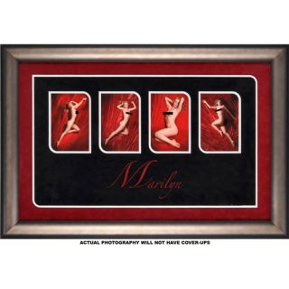 Marilyn Monroe -Nudes- Photo Sequence Photo with Facsimile Signature: Sports Fan Shop