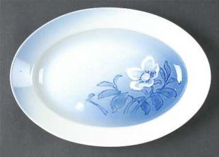 Bing & Grondahl Christmas Rose 10 Oval Serving Platter, Fine China Dinnerware