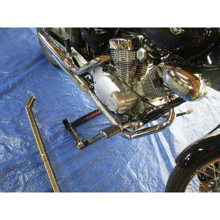 Motorcycle Cruiser Adjustable Pivot Center Stand Lift Jack Display Hoist Automotive