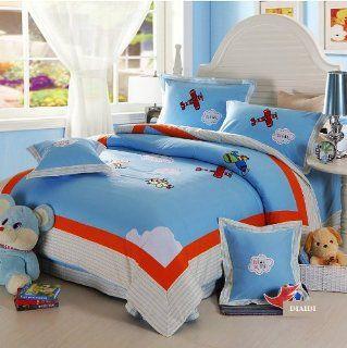 DIAIDI, Cute Cartoon Anime Bedding Sets, Kids Bedding, Queen Size Bedding, 4Pcs   Childrens Bedding Collections