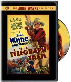 The Telegraph Trail: John Wayne, Duke (II), Frank McHugh, Marceline Day, Otis Harlan, Albert J. Smith, Yakima Canutt, Lafe McKee, Slim Whitaker, Chuck Baldra, Chief John Big Tree, Ben Corbett, Al Taylor, Bud Osborne, Bob Fleming, Blackjack Ward, Bud McClur