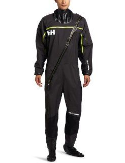 Helly Hansen Men's Hydro Power Dry Suit, Ebony, X Large  Drysuits  Sports & Outdoors