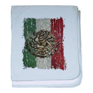 Mexico drugs on popscreen baby blanket sky blue mexican flag mexico grunge nursery swaddling blankets baby fandeluxe Gallery