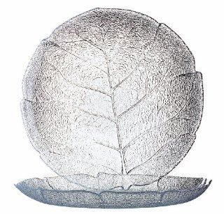 Arc International Luminarc Aspen Clear Buffet Plate, 10 3/4 Inch, Set of 6: Kitchen & Dining