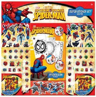 Book Stickers Marvel Comics Spiderman Stickers + Book (Marvel Comics Spiderman 515919) Toys & Games