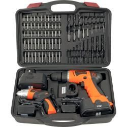 Combo Cordless 74 piece Drill and Driver Cordless Tool Sets