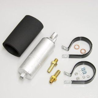 Walbro GCL620 1 190 LPH Electric Inline Fuel Pump EFI Universal With Install Kit Automotive