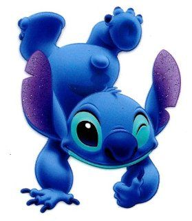 Stitch hand stand upside down w thumbs up in Lilo and Stitch Movie Disney Heat Iron On Transfer for T Shirt ~ 626 Experiment ~ Hawaii