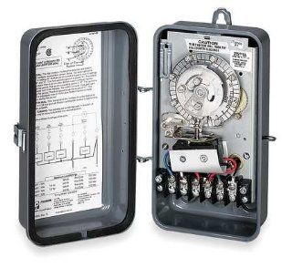 Defrost Timer, 120V, 2 NO, 2NC Switches Electronics