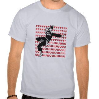 FU Super Rage Meme Face Ninja Shirt
