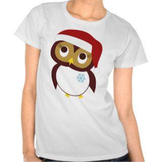 Happy Owl idays Tee Shirt