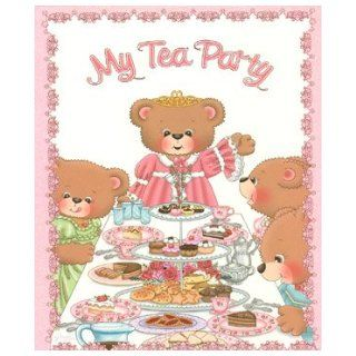 My Tea Party Personalized Book Cathy Adams, Grace Lee  Kids' Books