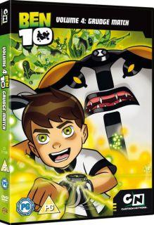 Ben 10 Vol 4: Grudge Match      DVD
