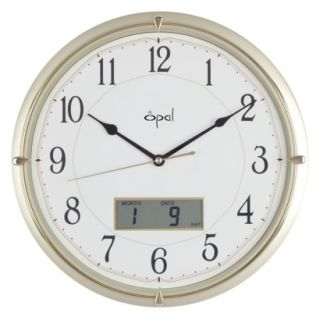 Opal Panache Ana Digi Clock   Champagne