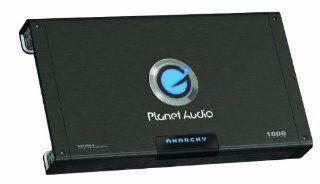 Planet Audio AC1800.5 MOSFET Five Channel Power Amplifier, 300 Watts x 4, 600 Watts x 1 MAX Power  Vehicle Multi Channel Amplifiers