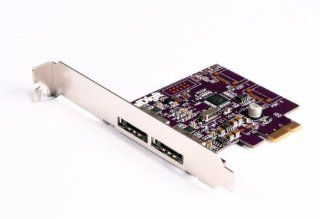 CalDigit FASTA 2e, 2 Port PCI Express SATA 3G Host Adapter Card, for Mac Pro, G5 and Windows Desktops: Computers & Accessories