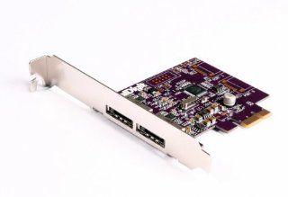 CalDigit FASTA 2e, 2 Port PCI Express SATA 3G Host Adapter Card, for Mac Pro, G5 and Windows Desktops: Computers & Accessories