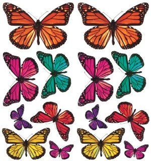 RoomMates ACC0003B3D Butterfly 3 D Wall Decals, 26 Count: Home Improvement