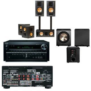 Klipsch RB 81II Home Theater Bundle Onkyo TX NR828 7.2 Channel  FREE PL 200 Electronics