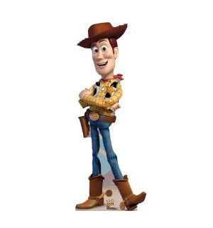 Woody (Disney Pixar Toy Story 3) Life Size Standup Poster, 24x58   Childrens Party Decorations