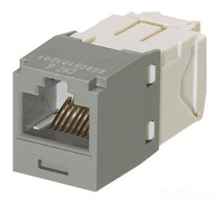 Panduit CJ688TGIG Category 6 8 Wire TG Style Jack Module, International Grey, 4 Pair: Home Improvement