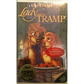 Lady and the Tramp [VHS]: Barbara Luddy, Larry Roberts, Peggy Lee, Bill Thompson, Bill Baucom, Verna Felton, George Givot, Stan Freberg, Lee Millar, Dal McKennon, Alan Reed, The Mellomen, Clyde Geronimi, Hamilton Luske, Wilfred Jackson, Dick Huemer, Don Da