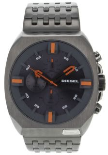 Diesel DZ4264  Watches,Mens Miura Chronograph Grey Dial Stainless Steel, Casual Diesel Quartz Watches
