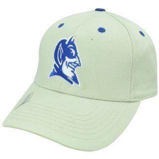NCAA Duke Blue Devils Twill Cotton Velcro College Plain Logo Adjustable Hat Cap  Sports Fan Baseball Caps  Sports & Outdoors