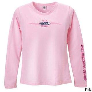 St. Croix Rods Womens Team Fishing Long Sleeve T Shirt 438839