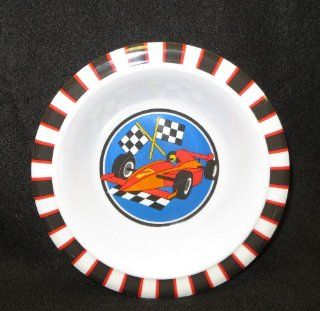 Child's Cereal Bowl   Race Car: Kitchen & Dining