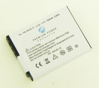 Compatible Nikon Digital Camera Battery, Replaces Part Number EN EL12. Fits Models: Nikon Coolpix S1000, Coolpix S1000pj, Coolpix S1100pj, Coolpix S6000, Coolpix S610, Coolpix S610C, Coolpix S620, Coolpix S630, Coolpix S640, Coolpix S70, Coolpix S710, Cool