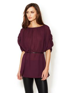 Modern Saint Semi Sheer Blouse by Julie Haus