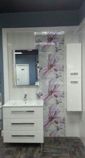 """Modern Bathroom Furniture, Vanity Set New Rodas 32"""" White, (Made in Spain, Europe), Cabinet, Sink   Salgar"""