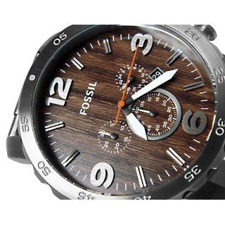 Fossil Nate Stainless Steel Watch   JR1355 at  Men's Watch store.