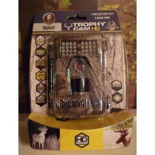 Bushnell 8MP Trophy Cam HD Trail Camera with Night Vision, Realtree AP Camo (Model #119447C) : Hunting Game Cameras : Sports & Outdoors