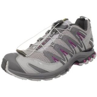 Salomon Women's XA Pro 3D Ultra Trail Running Shoe, Aluminum/Detroit/Purple Iris, 9.5 M US: Trail Runners: Shoes