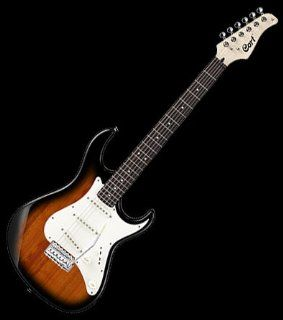 NEW CORT G SERIES G200 2T VINTAGE 2 TONE BURST FINISH ELECTRIC GUITAR: Musical Instruments
