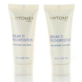 Phytomer Sun Serenity Pre/Post Sun Exposure Duo 15 ml x 2  After Sun Skin Care Moisturizers  Beauty
