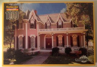 "Kodacolor Puzzles ""The Gables   Santa Rosa, CA"" Painted Ladies Collection 1000 Piece: Toys & Games"