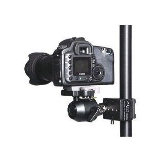 Ball Head Camera Support with Super Clamp  Flash Shoe Mounts  Camera & Photo