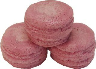 Mauve Macaron Fake Food 3 Pack   Home Decor Accents