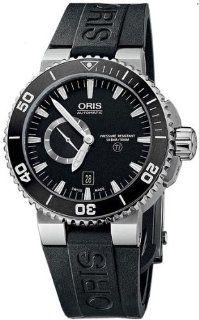 Oris Aquis Titan Small Second Date Mens Watch 743 7664 71 54 RS Aquis Watches