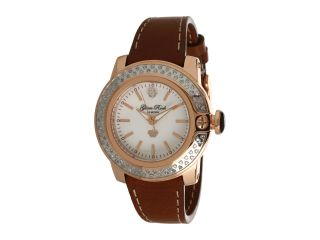 Glam Rock Lady SoBe 40mm Diamond Rose Gold Plated Watch GR31007D Rose Gold/Brown
