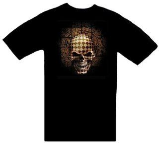Resurrection Alchemy Gothic Skull T Shirt ~ Novelty Item Made of 100% Cotton Adult Size (L) Large Shirt; Great Gift Idea (Mens, Youth, Teens, & Adults T Shirts) Toys & Games